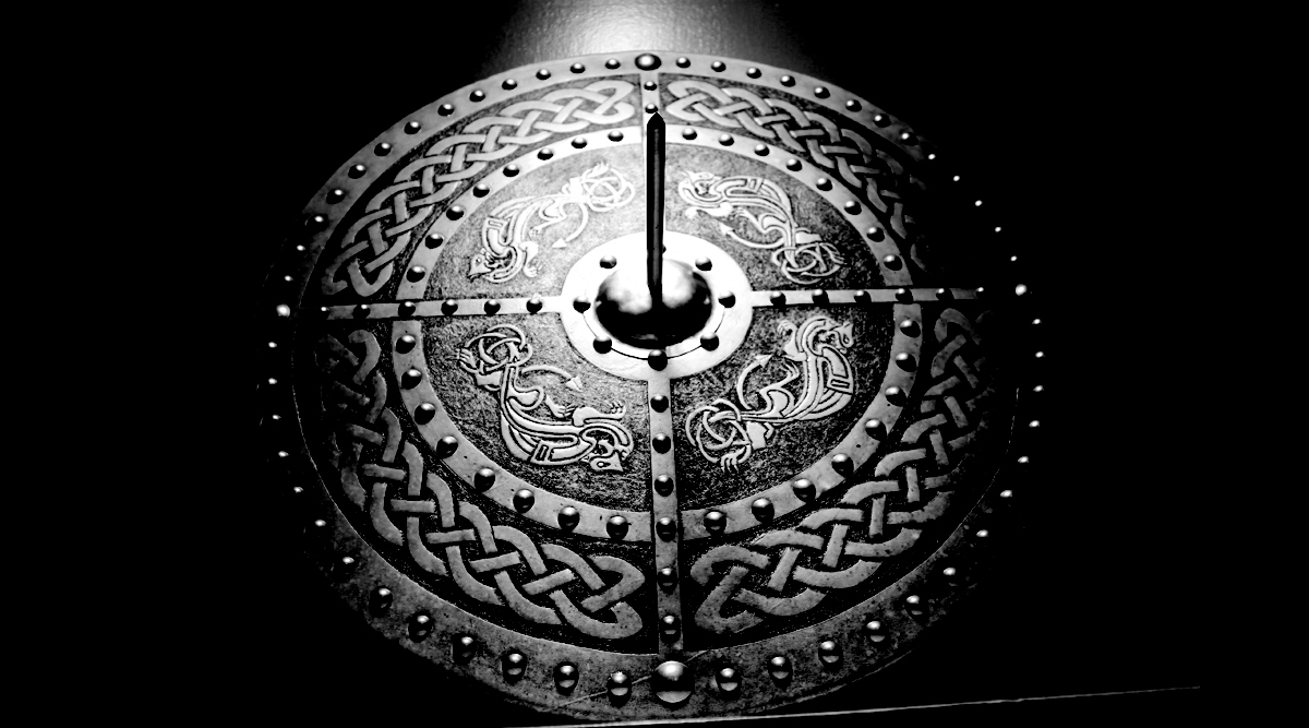 The Celtic Dragon Targe