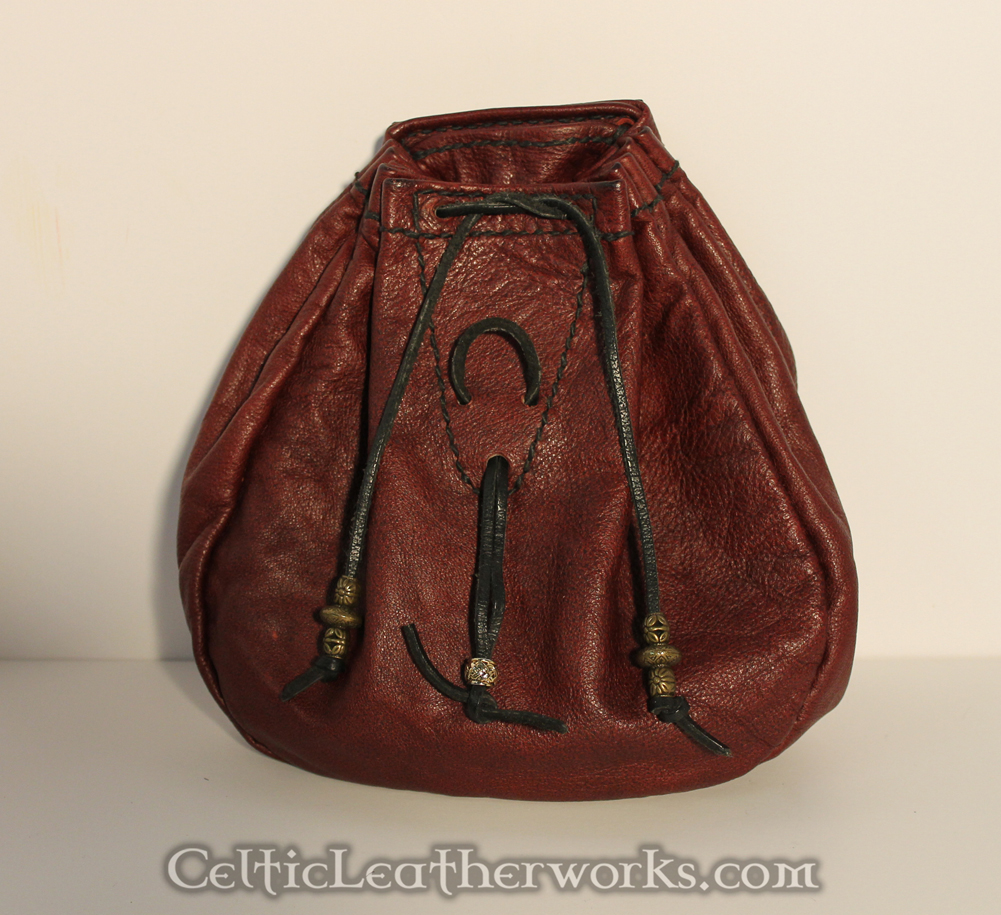 Ox Blood Rob Roy Style Bag