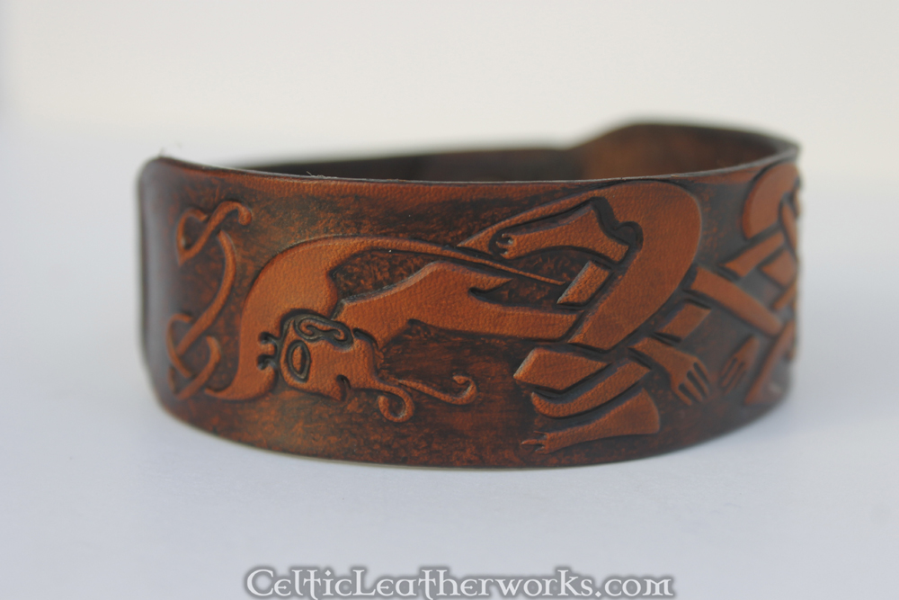 Kells Men Leather Cuff