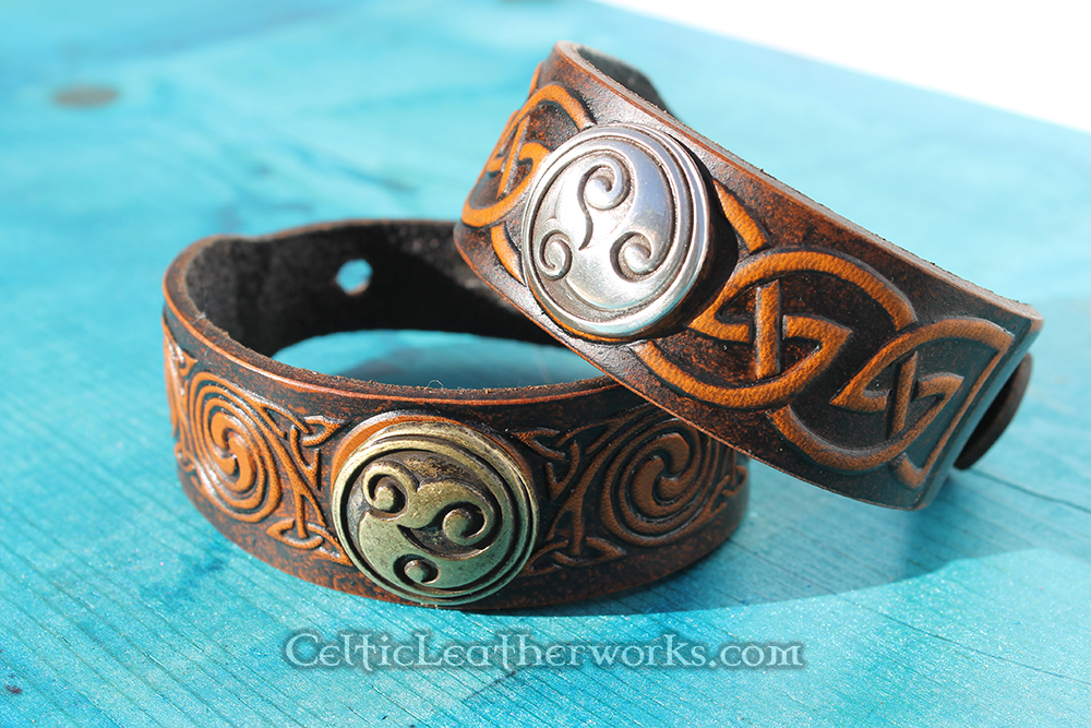 Quality Leather Cuffs and Bracelets