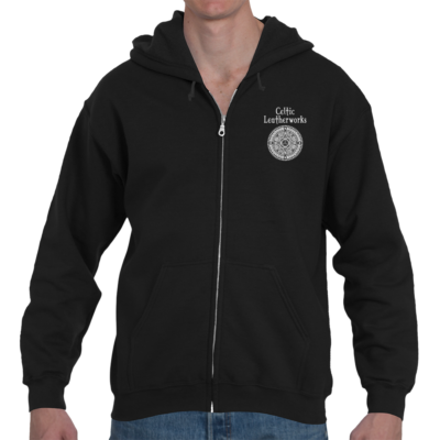 The Perth Targe Zipper Hoodie